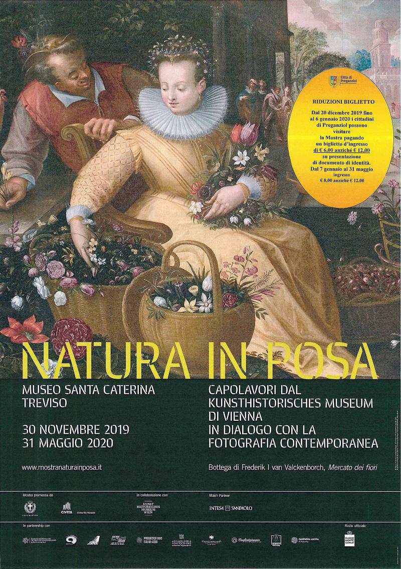 """""""NATURA IN POSA"""" museo di Santa Caterina Treviso – riduzioni prezzo biglietto cittadini Preganziol"""