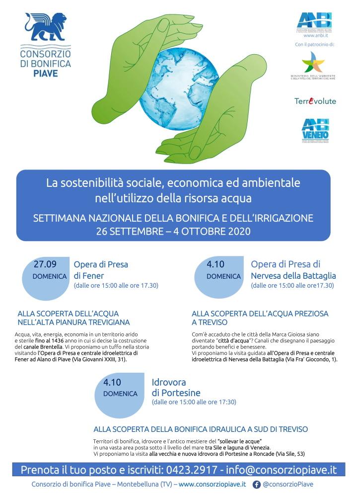 La sostenibilità sociale, economica ed ambientale nell'utilizzo della risorsa acqua