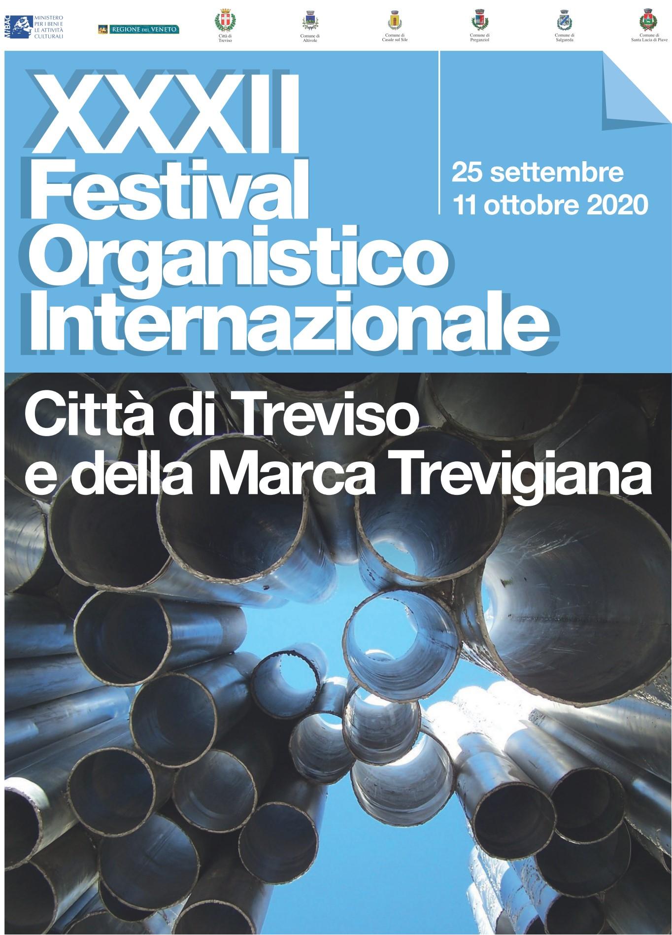 XXXII Festival Organistico Internaziomale Domenica 4 ottobre ore 16.30 Chiesa di San Trovaso