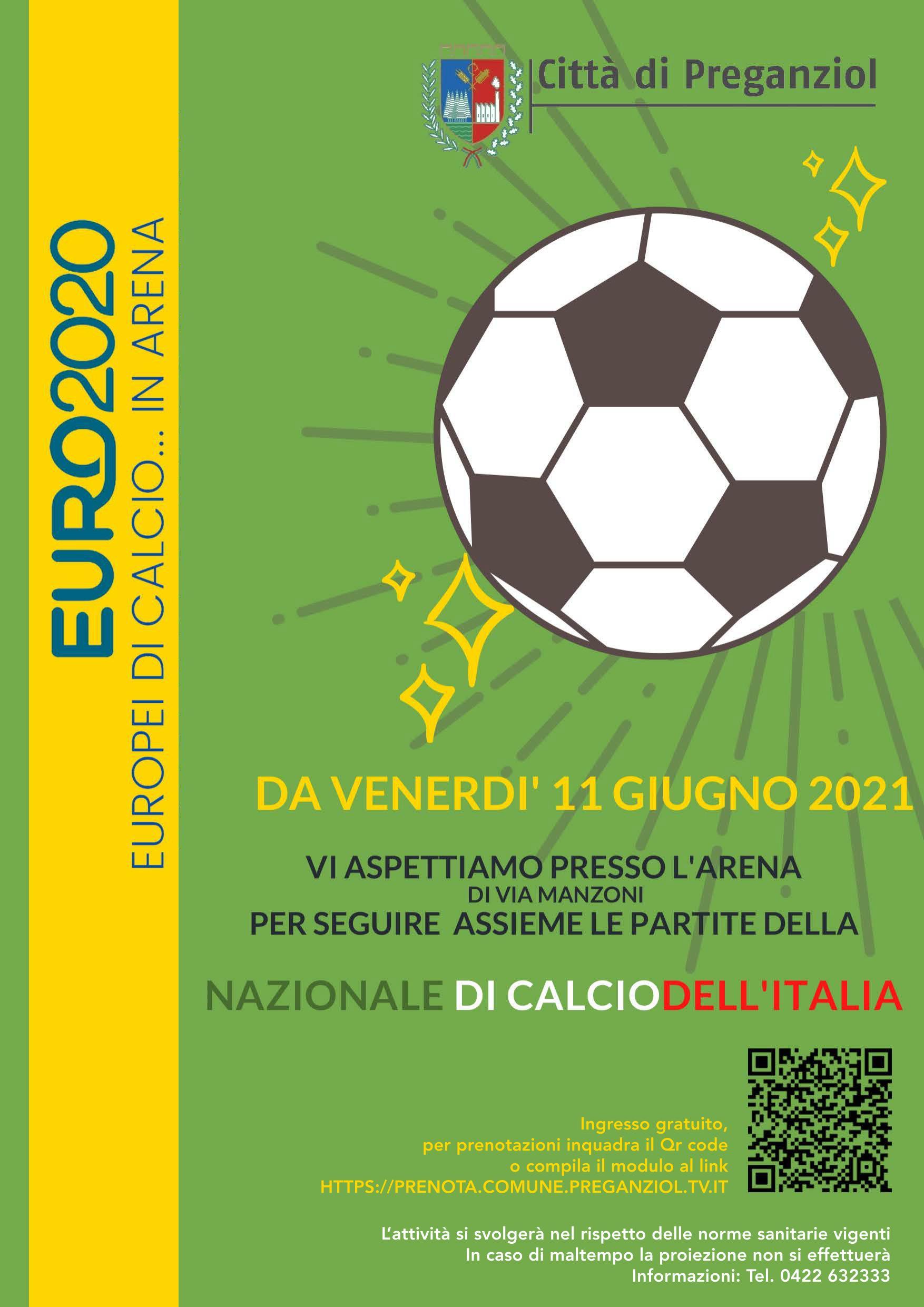 EURO 2020 – EUROPEI DI CALCIO ….IN ARENA