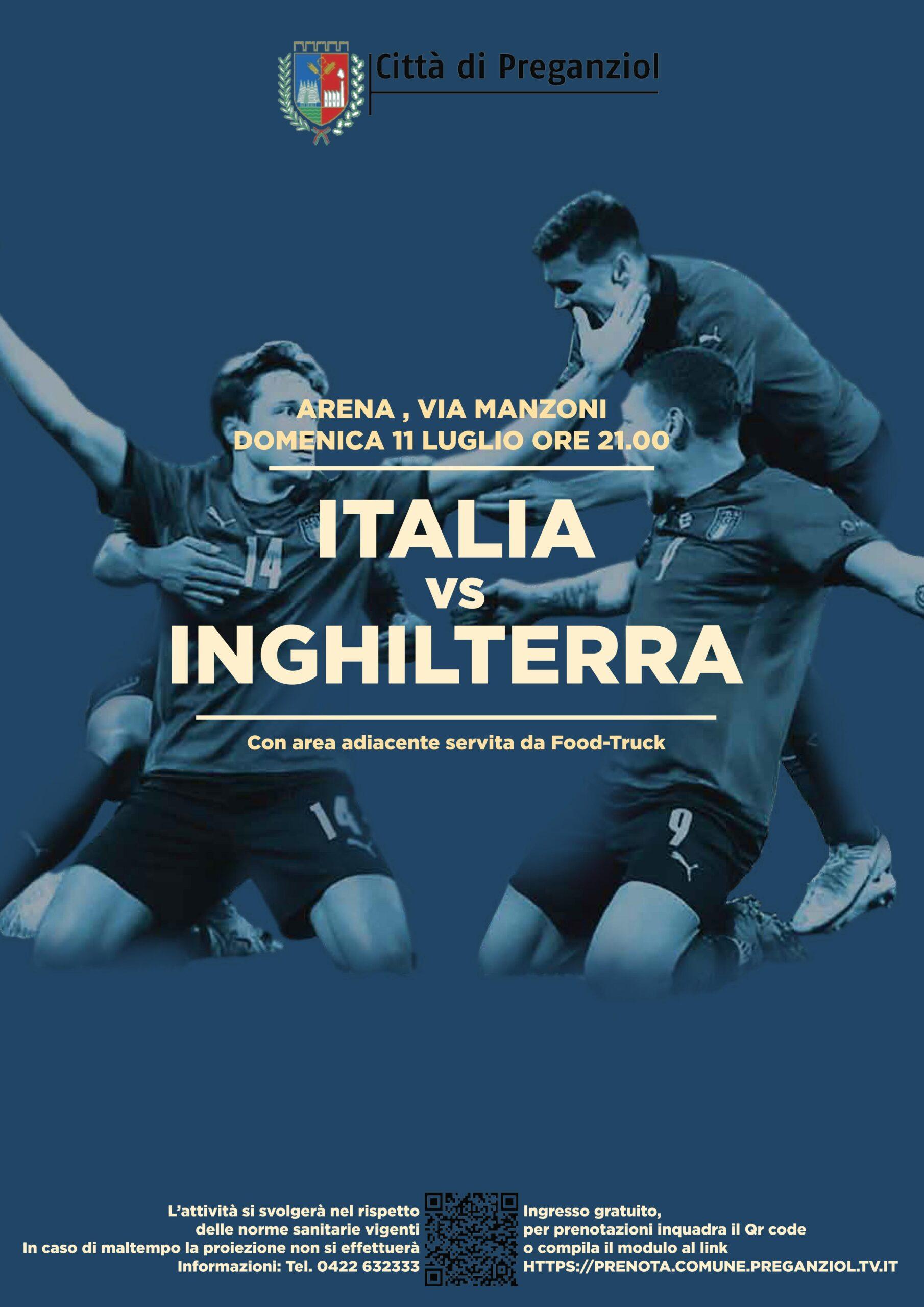EURO 2020 – EUROPEI DI CALCIO ….IN ARENA – Italia VS Inghilterra – REGOLAMENTAZIONE DEGLI ACCESSI